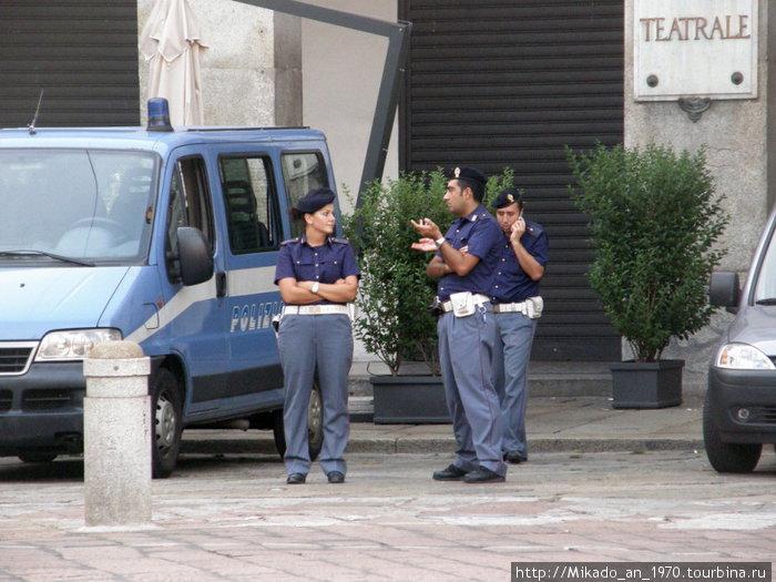 Полиция не дремлет