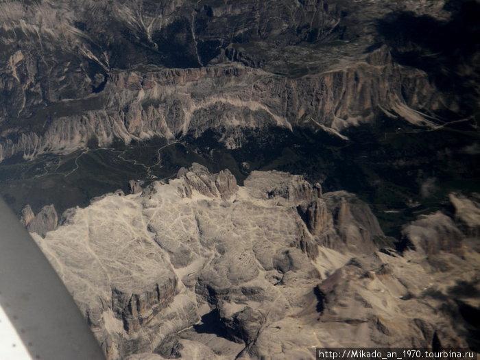 Долина в Альпах