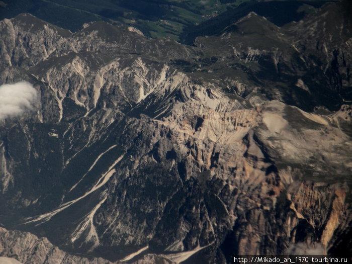 Гора в Альпах