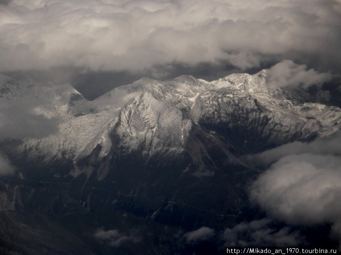Снег на вершинах
