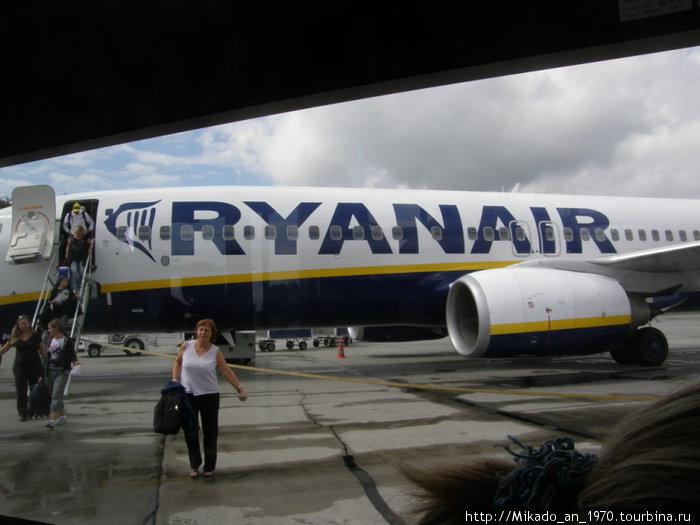 В аэропорту Краков