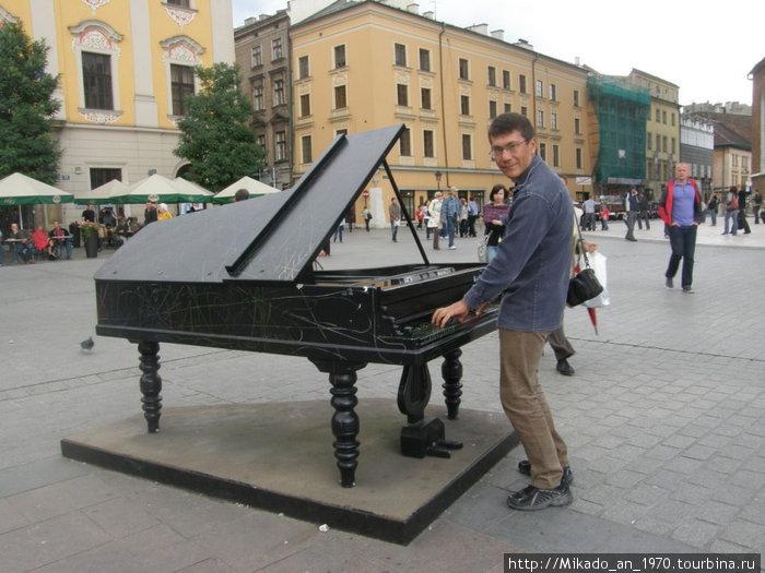 Я играю на рояле