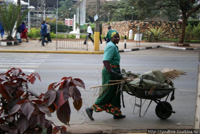 лица — на улицах Найроби
