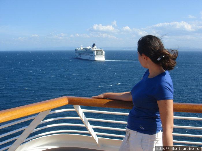 Вид с корабля