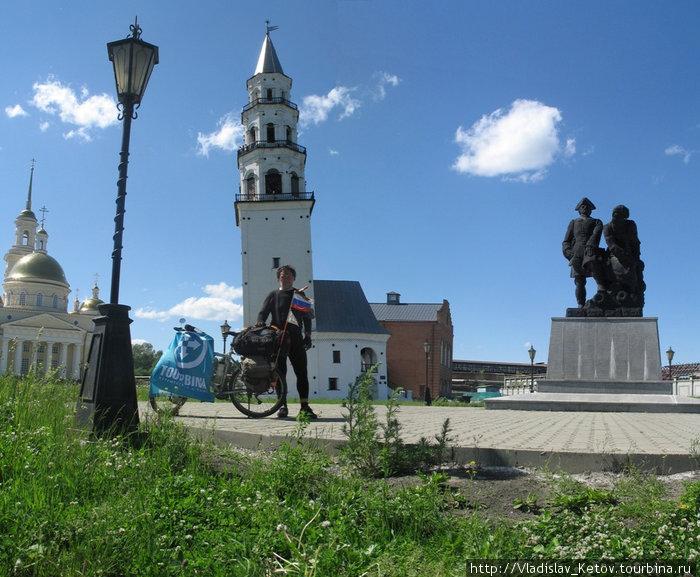 Невьянская башня и автор