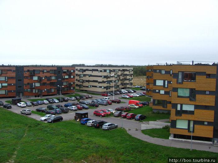 современный жилой квартал