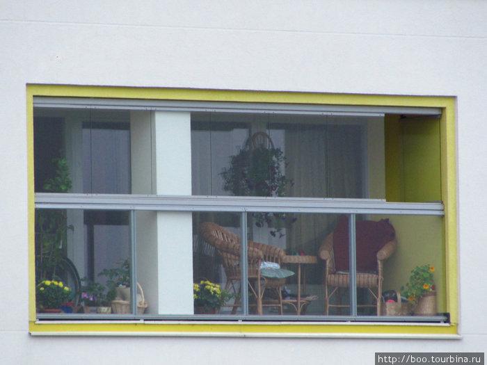 панорамные балконы. классно придумано?