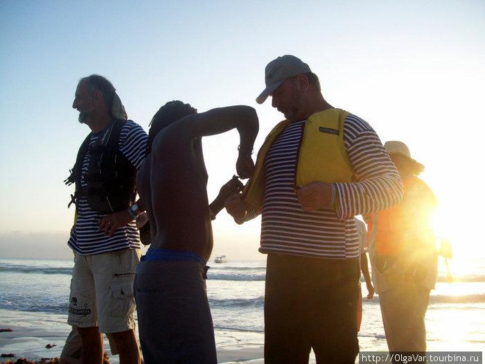 Экипировка   — залог выживания в океане