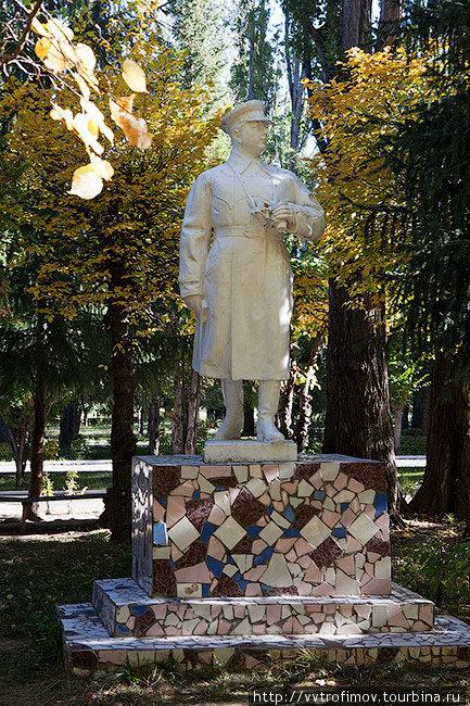 Военный санаторий Тамга.