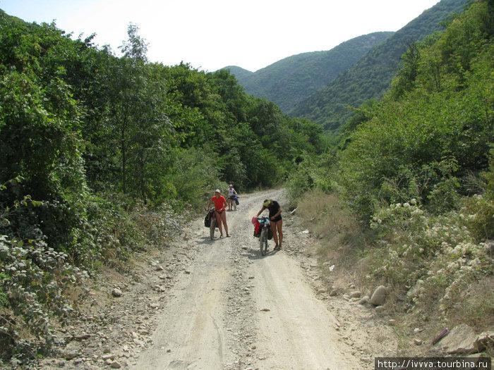ГАК на подъема к Сухому Лиману