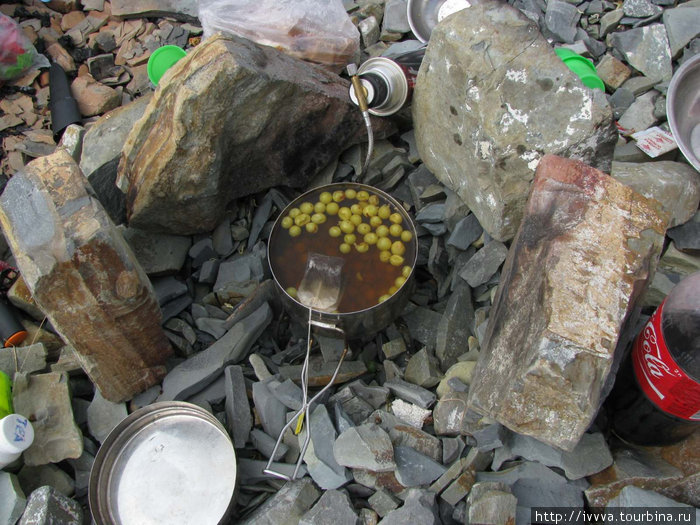 Виноградный суп-компот-чай