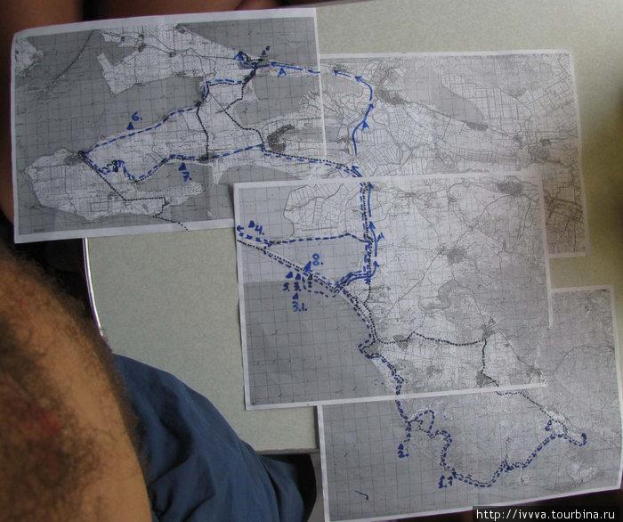 Рисуем маршрут