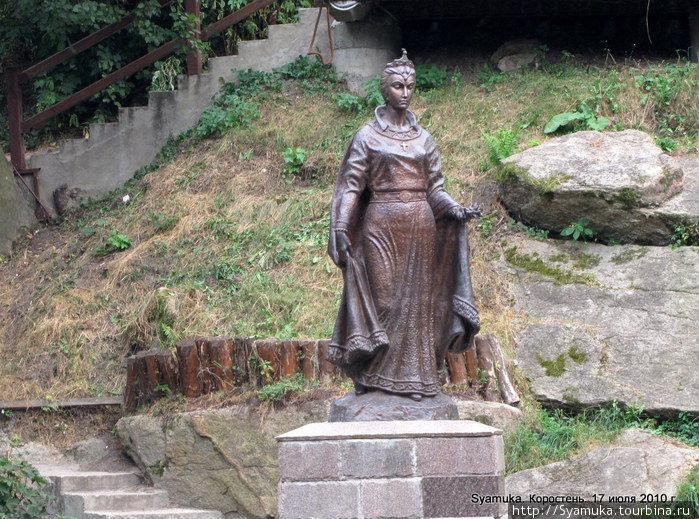 Памятник княгине Ольге.