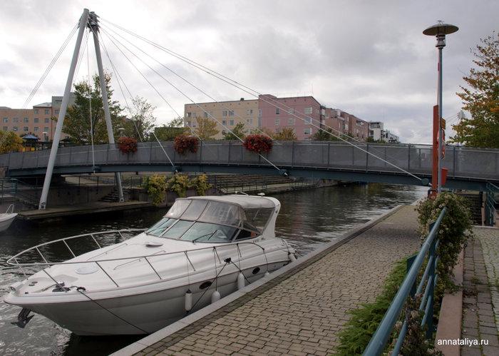 Парковка для яхт в районе Руохолахти