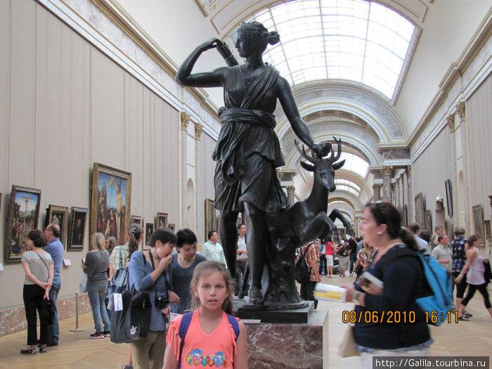 Охотница Диана и девочка Диана.