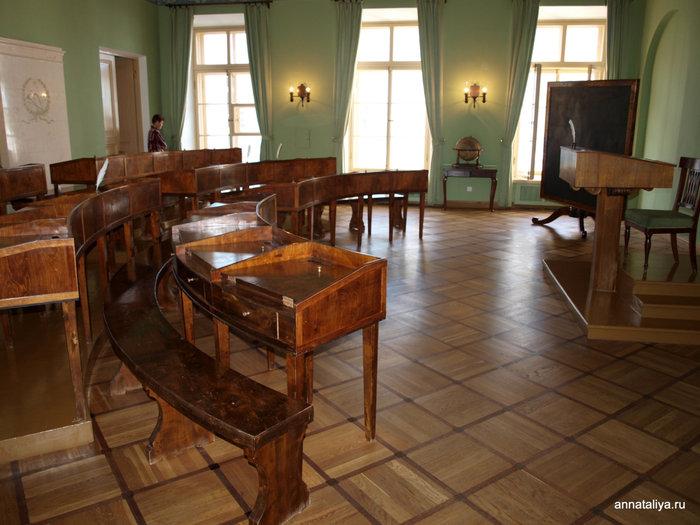 Учебный класс в Пушкинском лицее