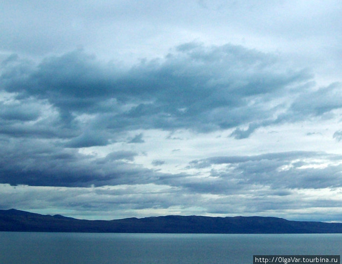 Озеро Лаго-Арджентино