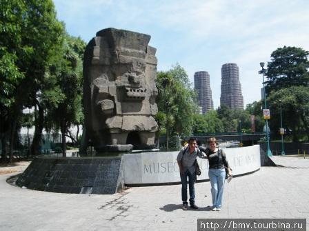 Лики Мехико. Небоскребы и чудовища.