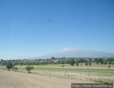 Вулканы Мексики.