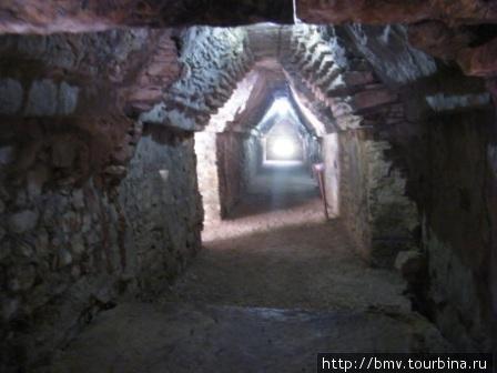 Пирамиды майя изнутри.