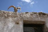 Памирский дом снаружи