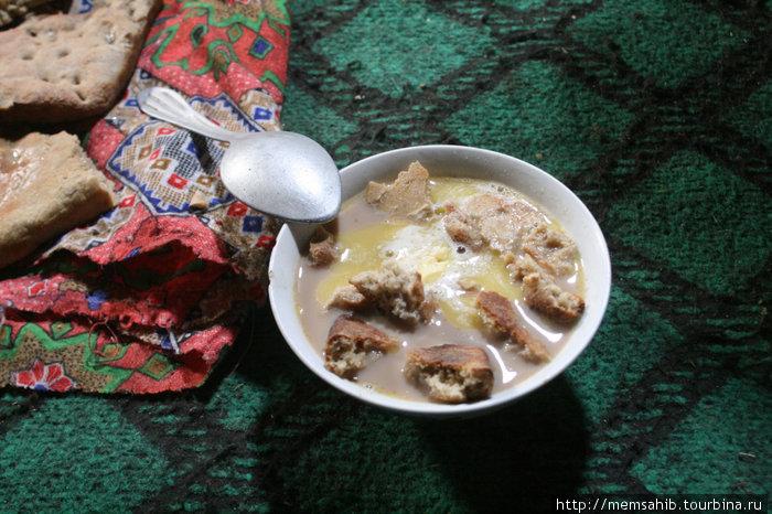 Шир-чай. Любимое блюдо туристов Горно-Бадахшанская область, Таджикистан