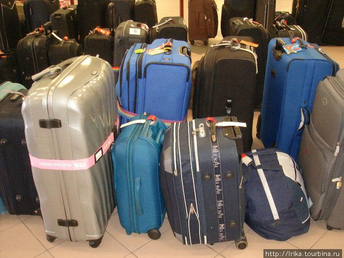 Багаж в круизном терминале