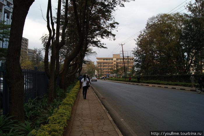 на улицах Найроби