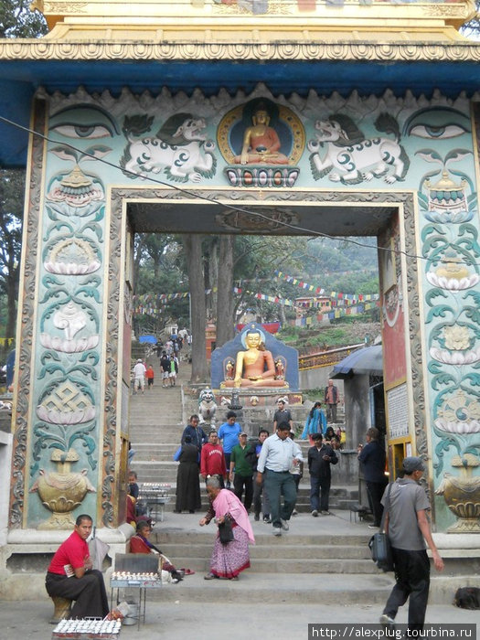 Вход в Сваямбунат