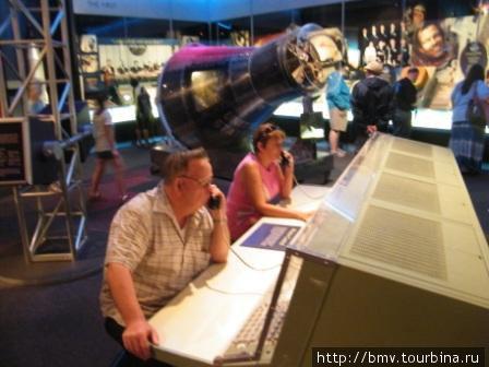Тренажеры в космическом центре Кенеди