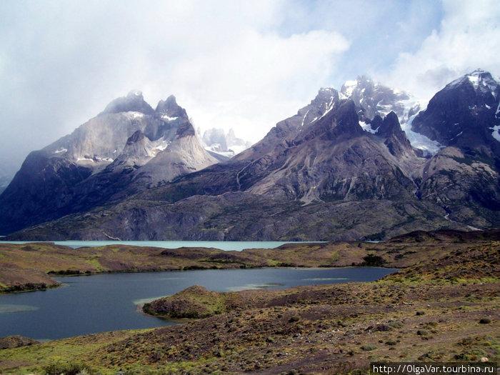 Чилийская Патагония — горы в парке Торрес-дель-Пайне