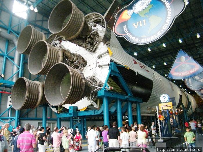 1 ступень ракеты Сатурн