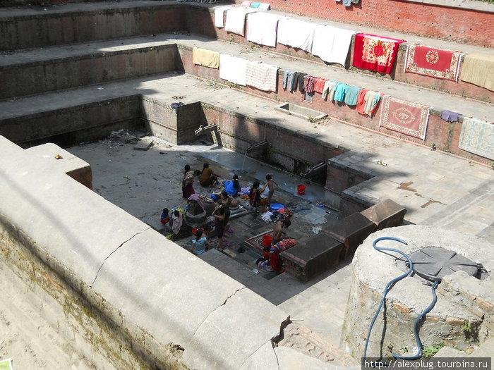 Банно-прачечный комбинат Катманду