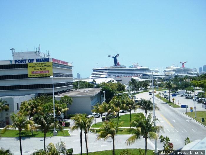 Пассажирский порт Майами