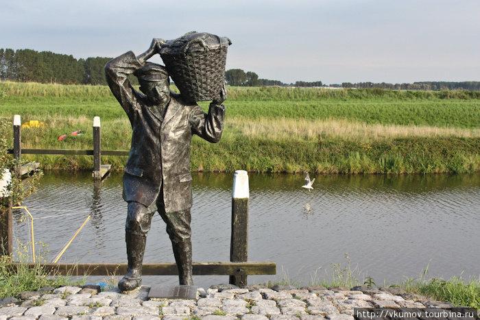 памятник рыбаку в ноябрьске