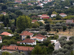 Вид на город со стен цитадели
