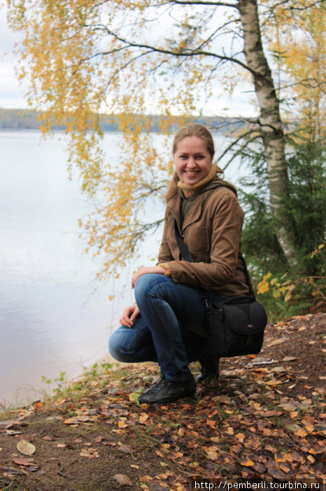 попросила местного лесовичка сфотограировать себя любимую!