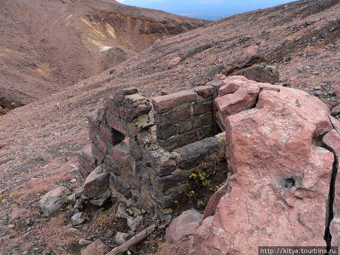 Остатки каменного лавоубе