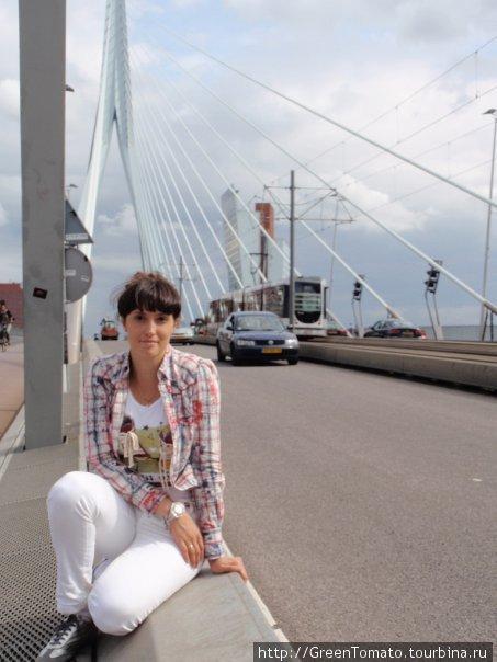 на мосту Эразма.