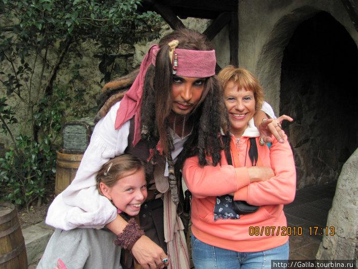 Встреча с пьяным пиратом.