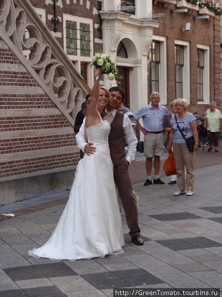 Свадьба в Алкмаре.