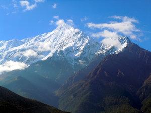 Горы у Джомсома