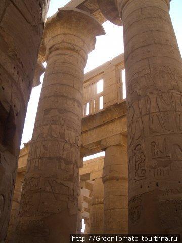 Луксор.Карнакский храм.