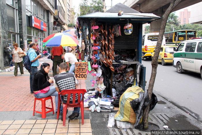 Торговцы в Медельине