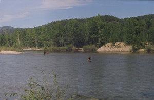 Река вброд под Улюнханом