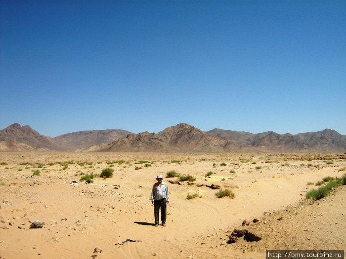 Иорданская пустыня.