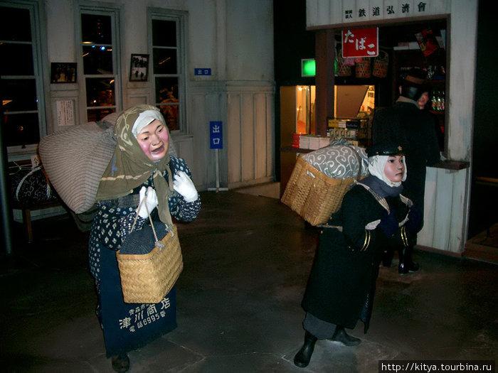 Фигурки на торговой улице по эпохе Сёва