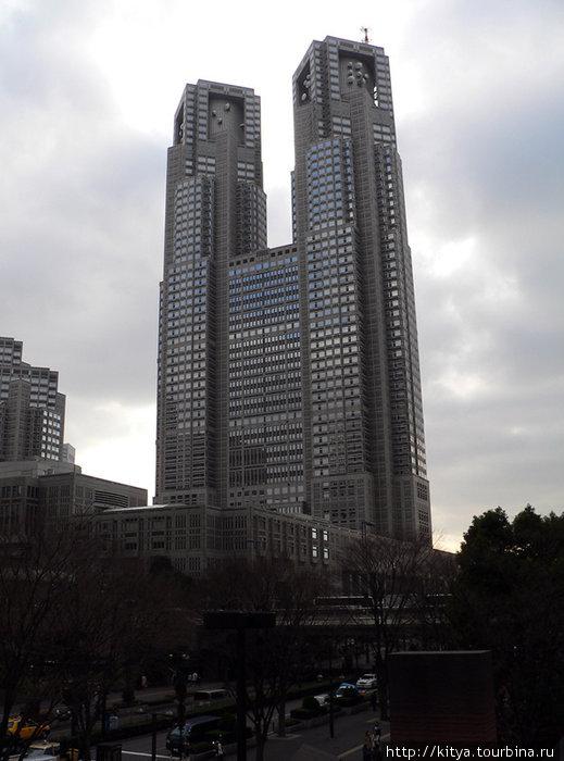 Здание токийского муницип