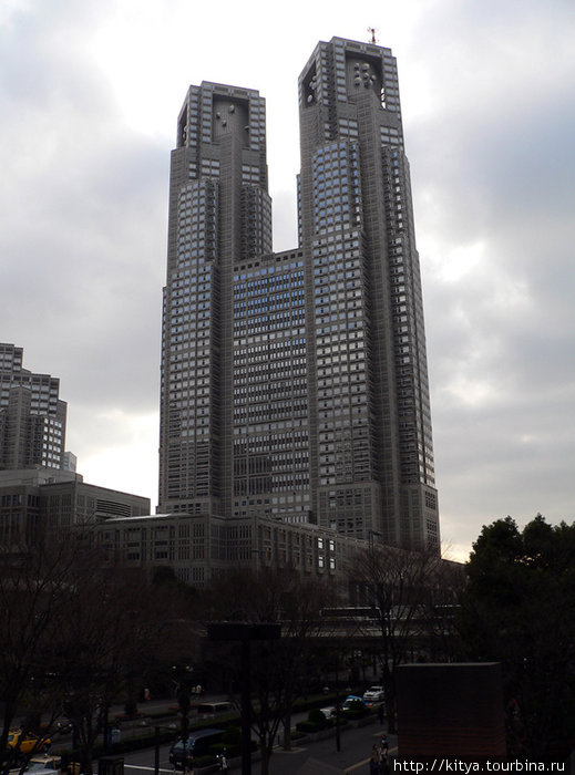 Здание токийского муниципалитета