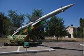 Ракета В-750 из ракетного комплекса С-75 «Волхов».